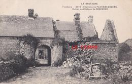 Lampaul Ploudalmezeau Ruines Du Chateau De Rosservo Manoir Mtil - Ploudalmézeau