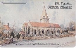 JER-27 TARJETA DE JERSEY DE ST. MARTIN  (5JERM) - [ 7] Jersey Y Guernsey