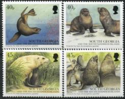SOUTH GEORGIA 2002 Seals Fauna MNH - South Georgia
