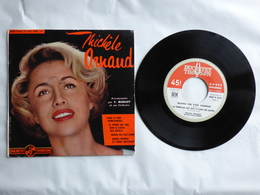 EP 45 T DISQUE  MICHELE ARNAUD   LABEL DUCRETET THOMSON 460V432  DANS LA RUE QUINCAMPOIS - Disco, Pop