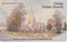 JER26 TARJETA DE JERSEY DE TRINITY PARISH CHURCH (5 JERL) - [ 7] Jersey Y Guernsey