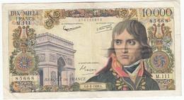 10000 Francs Bonaparte Type 1955, F51.11, P136, 06/03/1958, M.111, TB+ - 1871-1952 Anciens Francs Circulés Au XXème