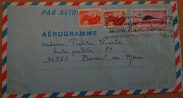 FRANCE -   Aérogramme 1011 1008 1017 - Entiers Postaux