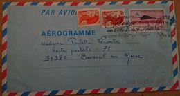 FRANCE -   Aérogramme 1011 1008 1017 - Postal Stamped Stationery