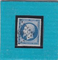 N° 14 A  PC  840  CHEMIRE-LE-GAUDIN  /  SARTHE - REF 14616 + VARIETE IND 10  COTE 60€ - 1853-1860 Napoleon III