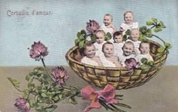 """Humour Fantasy, Baby's """"corbeille D'amour"""", Bébés (pk45000) - Cartes Humoristiques"""