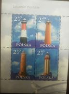 O) 2006 POLAND, LIGHTHOUSES - STILO-KRYNICA MORSKA-GASKI - NIECHIRZE, MNH - 1944-.... Republic