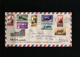 Spain / Spanien 1974 Interesting Letter - 1931-Hoy: 2ª República - ... Juan Carlos I