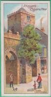 Chromo John Player & Sons, Player's Cigarettes - Celebrated Gateways - South Gate, Launceston N°45 - Player's