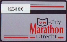 Telefoonkaart  LANDIS&GYR NEDERLAND * RDZ.043 109B * MARATHON * Pays Bas Niederlande PRIVATE  ONGEBRUIKT * MINT - Niederlande