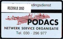Telefoonkaart  LANDIS&GYR NEDERLAND * RDZ.050.B 205D * POLITIE VERBINDINGSDIENST Pays Bas Niederlande  ONGEBRUIKT *  - Privé