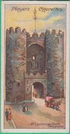 Chromo John Player & Sons, Player's Cigarettes - Celebrated Gateways - St. Laurence's Gate, Drogheda N°42 - Player's