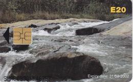 TARJETA DE SWAZILAND DE UNA CASCADA (CATARATA-WATERFULL) - Swaziland