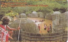 TARJETA DE SWAZILAND DE UN POBLADO - CULTURAL VILLAGE - Swaziland
