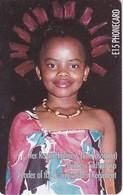TARJETA DE SWAZILAND DE LA PRINCESA SIKHANYISO - Swaziland