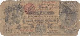 RARE ARGENTINE 1 Peso 1888 Sans Surcharge  PROVINCIA De SANTIAGO DEL ESTERO Série 009 - Argentine