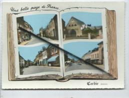 CPSM Grand Modele - Corbie  -(Somme ) Livre - Une Belle Page De France - Corbie - Somme -(multivue , Multivues) - Corbie