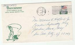1970 Jekyll Island GOLF Sport  COVER Stamps USA Illus Advert - Golf