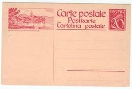 Suisse // Schweiz // Switzerland // Entiers Postaux // Entier Postal Neuf , Image Beckenried Am Vierwaldstättersee - Stamped Stationery