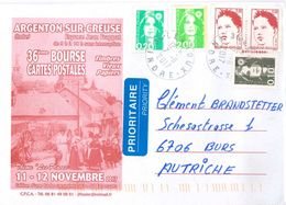 Argenton Creuse Indre Levroux - Covers & Documents