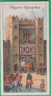 Chromo John Player & Sons, Player's Cigarettes - Celebrated Gateways - Newgate; London N°17 - Player's