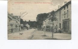 CPA - FRANCONVILLE - RUE DE PARIS - MAISON FOULLON - Animée - Franconville