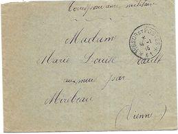 CM 55  Correspondance Militaire Du 14-01-15 Cachet Trésor Et Postes Simple Cercle N°(SP)41 53ème Division D'Infanterie - Marcofilie (Brieven)