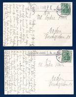 Cachet De Censure Aachen Stadt P.K. Zu Befördern Sur 2 CP.du 20.4.1915 De Rötgen-Montjoie à Aachen - Allemagne