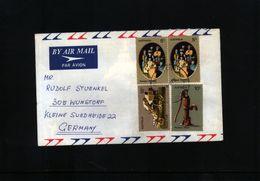 Australia 1973  Interesting Airmail Letter - 1966-79 Elizabeth II
