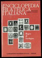 Enciclopedia Filatelica Italiana - II - REGNO DI SARDEGNA - IT. - Temas
