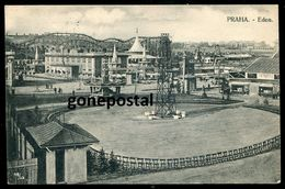 1347 - CZECHIA Praha/ Prague 1920s Eden Lunapark. Roller- Coaster - Czech Republic