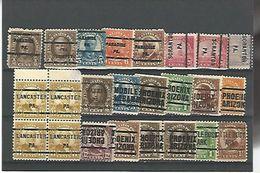 50148 ) Collection Precancel - United States