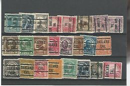 50150 ) Collection Precancel - United States