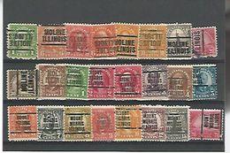 50159 ) Collection Precancel - United States