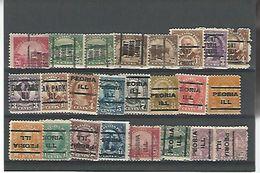 50160 ) Collection Precancel - United States