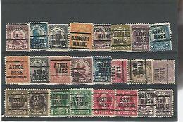 50166 ) Collection Precancel - United States