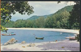 °°° 10880 - MALAYSIA - A PICTURE SCENE OF NORTH COAST BEACH - 1972 With Stamps °°° - Malesia