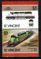 СЕН ВИНСЕНТ  1972    ЛЮКС ** - Trains
