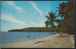 °°° 10882 - INDONESIA - PULAU DJAWA - PANTAI FLORIDA SURALAJA - 1981 With Stamps °°° - Indonesia