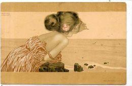 CPA Kirchner Raphaël Non Circulé Art Nouveau Femme Girl Women - Kirchner, Raphael
