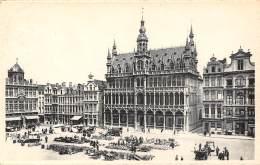 BRUXELLES - Grand'Place (N.-E) - Maison Du Roi - Marktpleinen, Pleinen