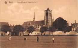 YPRES - Plaine D'Amour Et L'Eglise St. Martin - Ieper
