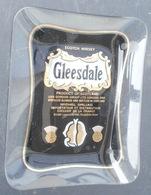 Cendrier Publicitaire SCOTCH WHISKY GLEESDALE En Verre - Ashtrays
