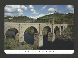 Postcard SPAIN EXTREMADURA ALCANTARA ROMAN BRIDGE HISTORY ARCHAEOLOGY ESPAÑA - Cáceres