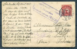 1916 Sweden Postcard Stockholm Censor - Teheran, Iran Persia - Sweden