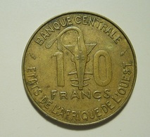 West African States 10 Francs 1979 - Monnaies