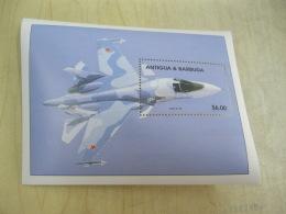 Antigua Barbuda Airplane Fighter I201802 - Antigua And Barbuda (1981-...)