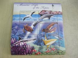 Antigua Barbuda Marine Life Fish I201802 - Antigua And Barbuda (1981-...)