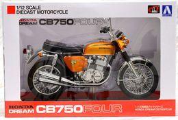 Honda CB750FOUR Candy Gold ( 1/12 Aoshima/Skynet ) - Motorcycles