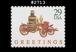 US 2713 St1 Fire Pumper Christmas Toys - Blocks & Kleinbögen